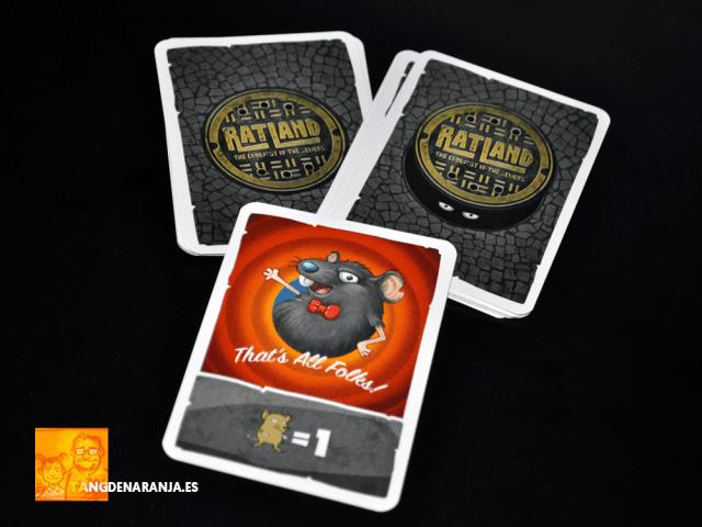 Ratland juego de mesa reseña cartas evento