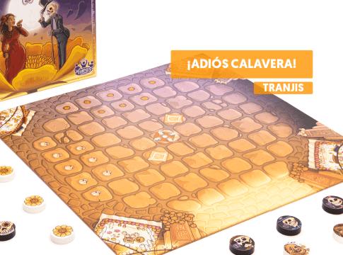 ¡Adios Calavera! juego de mesa tranjis coco mexico dia de los muertos como se juega destacada reseña