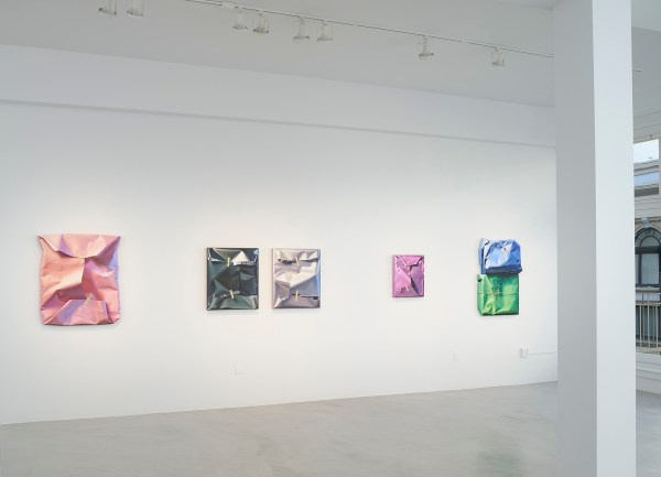 Paintings of Wrapped Packages