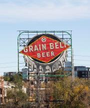 grain belt beer sign minneapolis