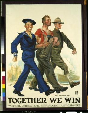 poster together we win
