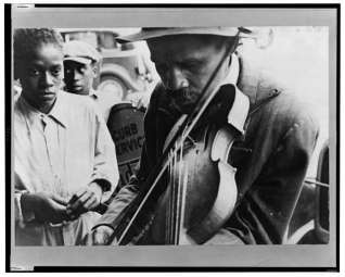 blind musician fiddle