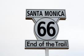 Santa monica 66 end