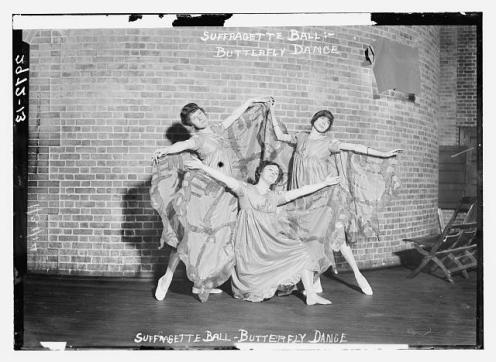 dancer suffragettes