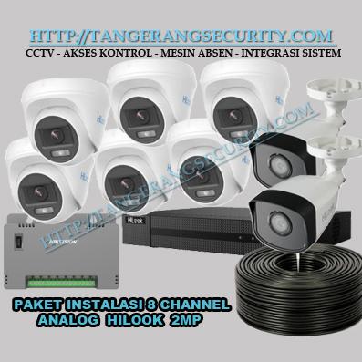 Instalasi CCTV Tangerang Paket Instalasi CCTV 8 Channel Hilook