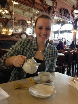 fancy tea in Porto