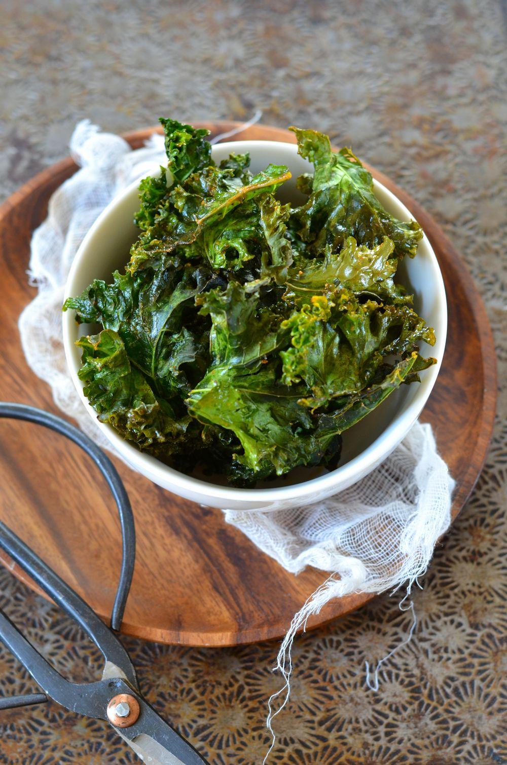 Comment Cuisiner Le Chou Kale : comment, cuisiner, Chips, Recette, Tangerine