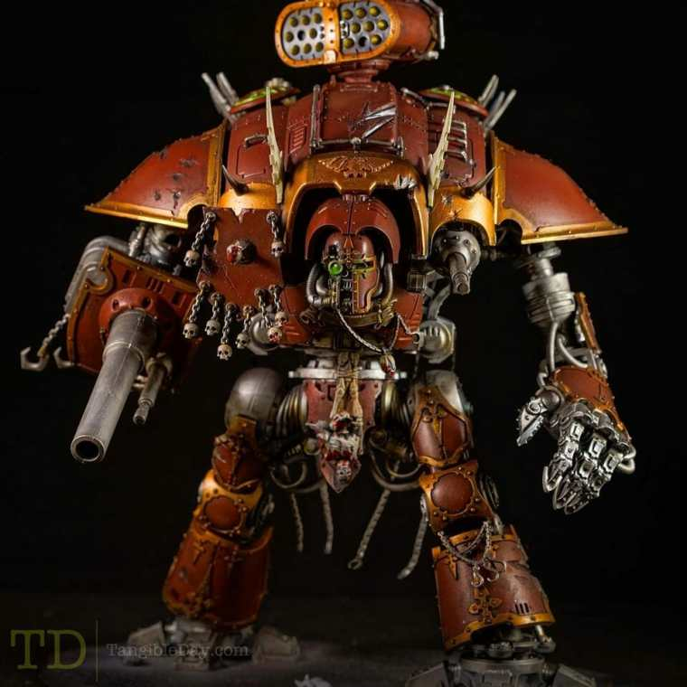 Imperial Knight - Chaos conversion (Games Workshop)