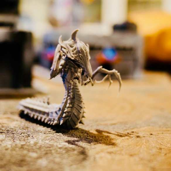 3D Printed Hydralisk (40k Tyranid Proxy) for Gaming or Collection