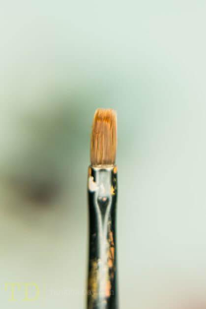 Bristle close up of Citadel Medium Base brush