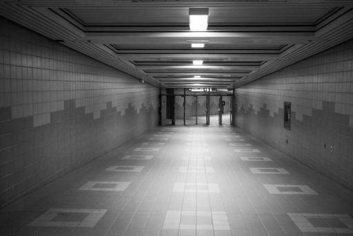 subway hallway structure