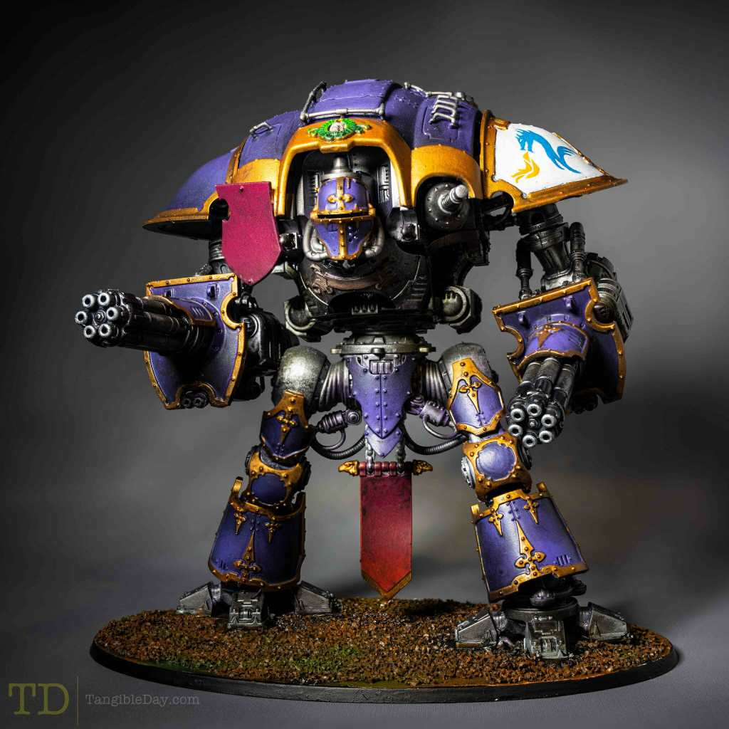 Painting Showcase - Imperial Knight: Dullcote Your Models