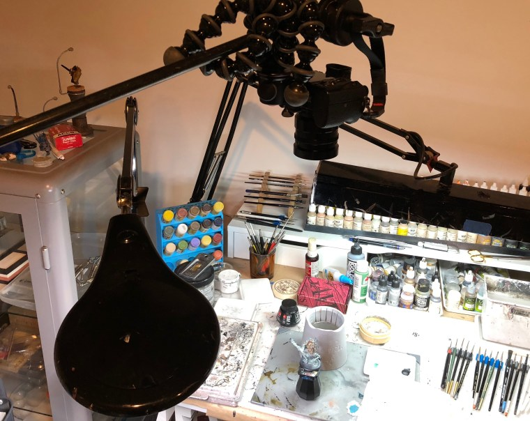 Camera Setup for Videography (Miniature Painting) - Grymkin Rattler