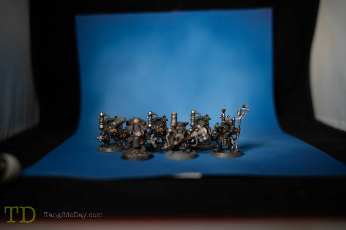 Focus stacking for miniature photography