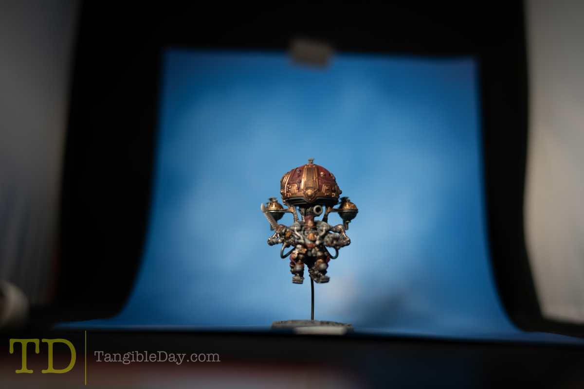 Kharadron overlords focus stack to make sharper and better miniature photos for social media sharing
