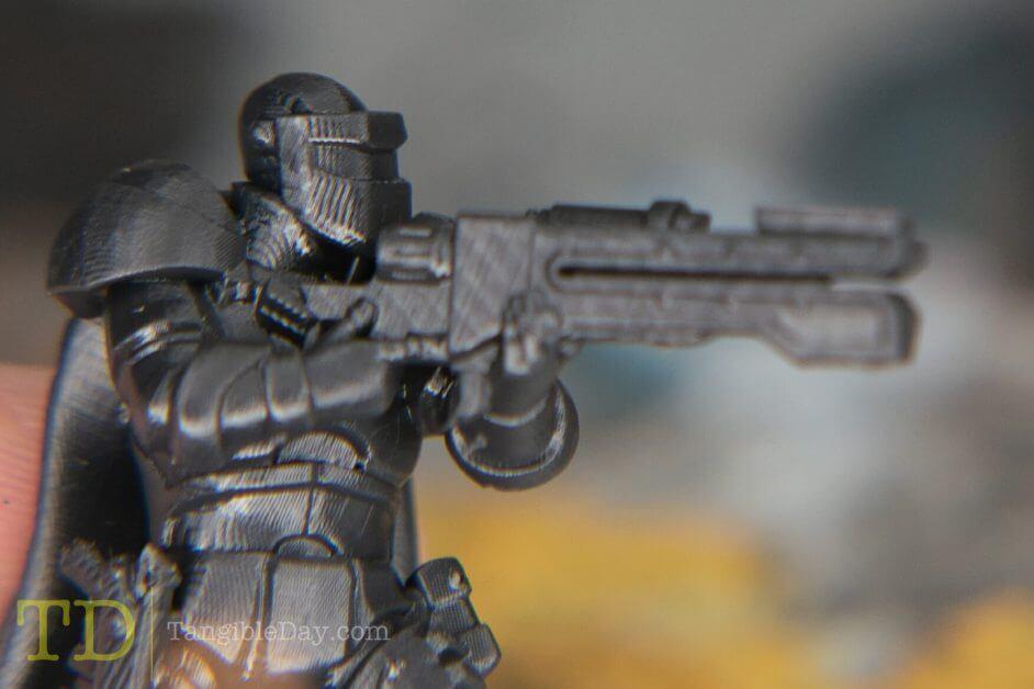 Hero Forge: Unboxing Custom 3D Printed Miniatures (Close-Up Photos) - Premium Plastics