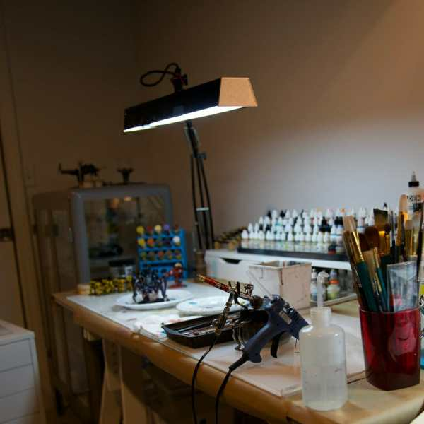 Need a Portable Light Solution for Miniatures?