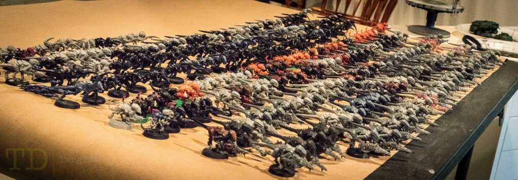 3 Tips to Painting Horde Armies (Tricks, Tools!) - Paint models more efficiently