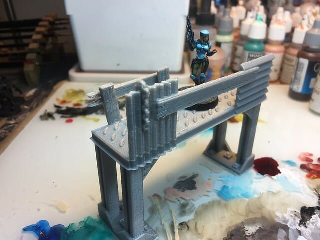 3 Awesome Ways to Make Wargaming Terrain (Cheap, Easy, and Free) - low cost cheap DIY wargaming terrain for Warhammer 40k, Age of Sigmar, and other tabletop games, DND terrain making, dungeon and dragon terrain for RPG - catwalk