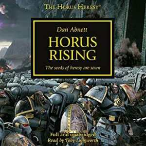 105 Audiobooks Out Now for Horus Heresy 30k and Warhammer 40k (Updated)