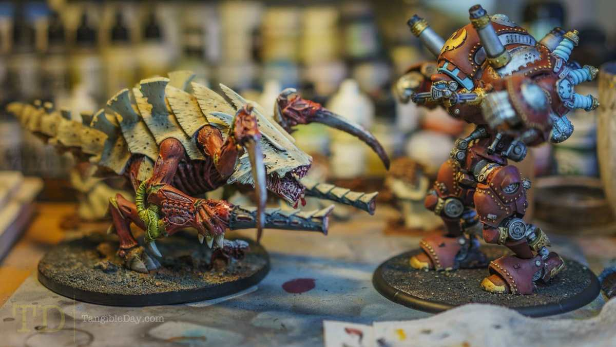 Painting Organics: How-To Paint Warhammer 40k Tyranids