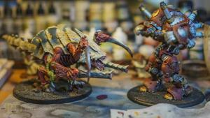 Painting Organics: How-To Paint Warhammer 40k Tyranids
