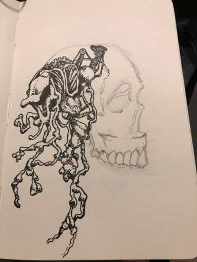 """Drawing"" Me Out of My Skull"