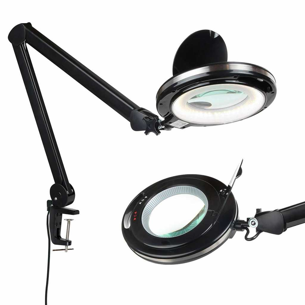 13 Best Lights for Painting Miniatures and Models - Best lamp for miniature painting - hobby lamp - hobby light - best miniature painting lamp - hobby lamps - desk lamp for hobbies - lights for miniature painting and hobby - lens lamp