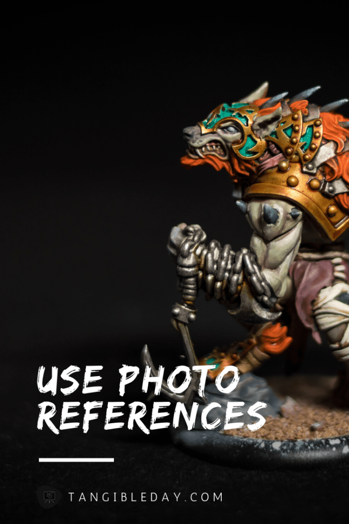 50 Miniature Painting Tips: What I Learned as a Commissioned Painter - Essential painting tips for miniatures and models - how to paint miniatures - how to paint models and miniatures for warhammer 40k and tabletop wargames - use photo references