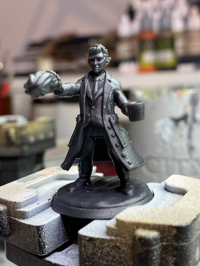 How do you prepare a 3D printed model for paint? - How to. paint a 3d printed miniature or model heroforge - how to paint heroforge minis