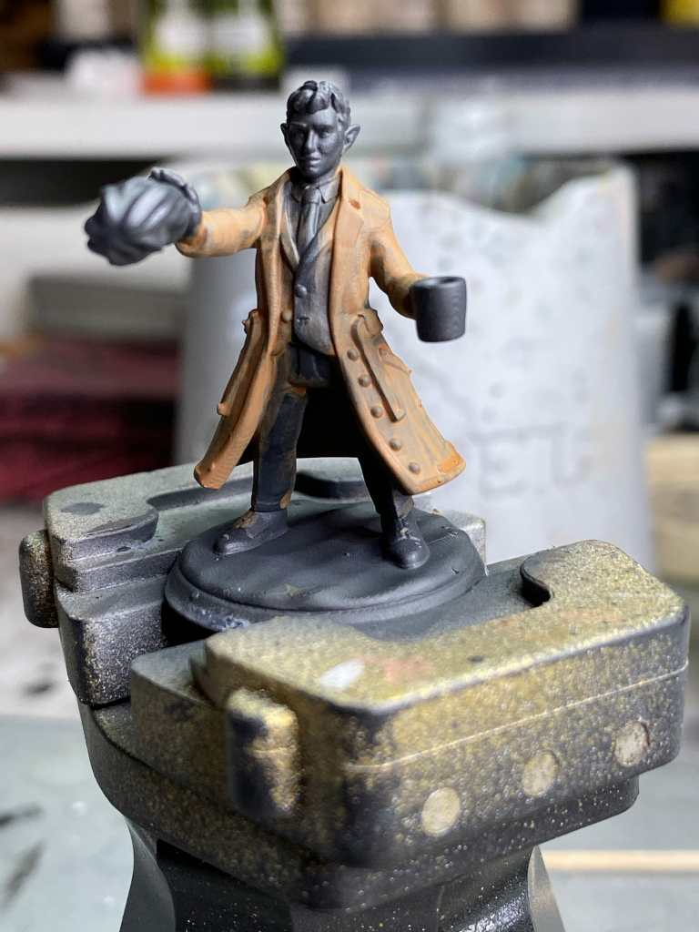 Tutorial - how to glaze 3d printed miniatures and models