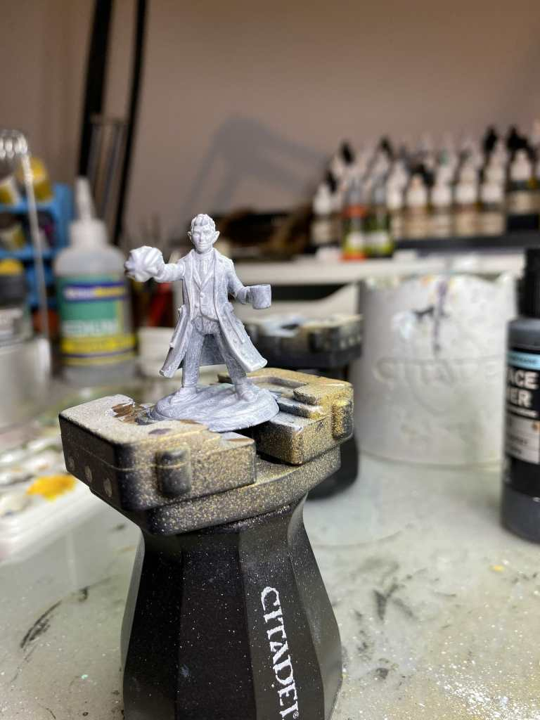 How to prime 3d printed miniatures - how to paint heroforge models