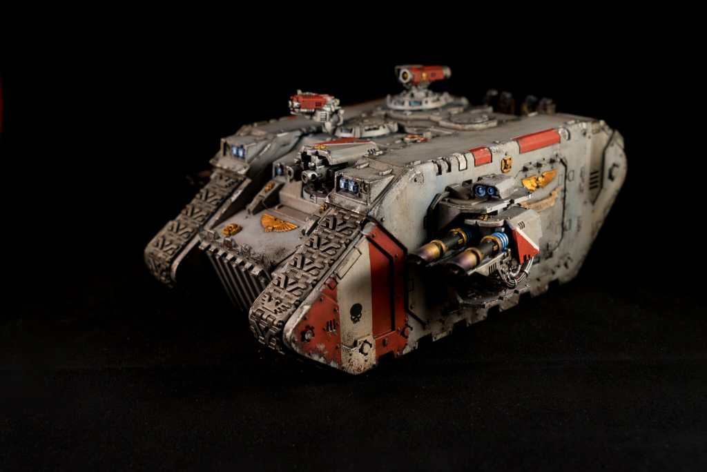 Warhammer 40k 30k vehicles and armor painting - best metallic model paint for painting miniatures and models