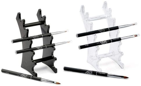 10 Fun Paint Brush Holders for Hobby Painters - acrylic paint brush stand set