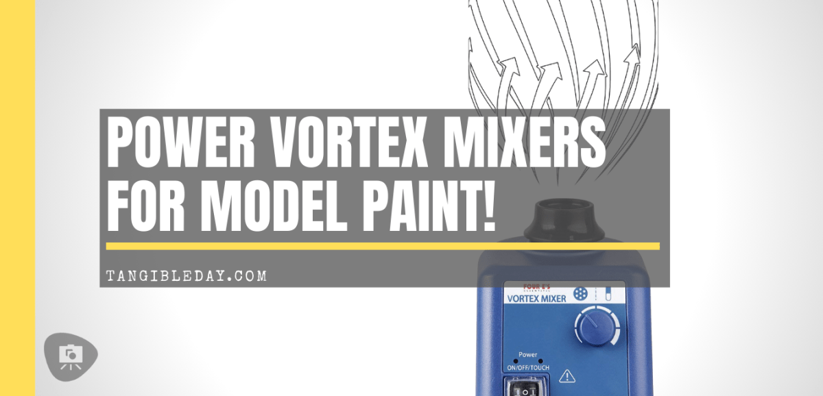 5 Powerful Vortex Mixers for Model Paint!