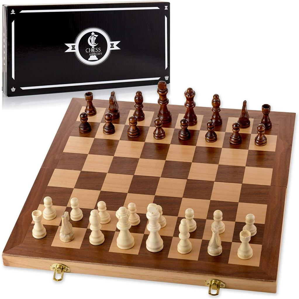 "Chess: A ""Gateway Drug"" into Miniature Wargaming? - Best wooden chess set inexpensive and cheap"
