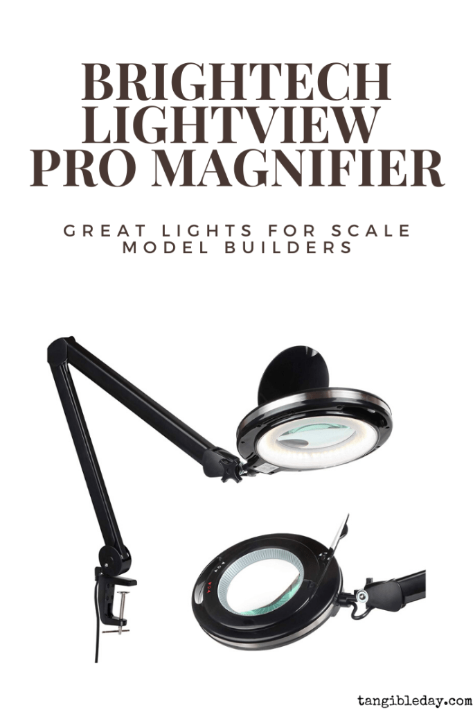 Two recommended lamps for model builders and other miniature hobbies - Best light for model builders - lamp purchasing tips for assembling miniatures - Brightech LightView PRO