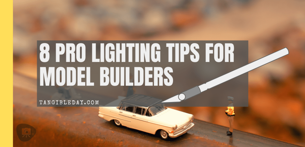 Professional lighting tips for model builders - daylight lamps for hobbyists and best lights for hobby work assembling kits