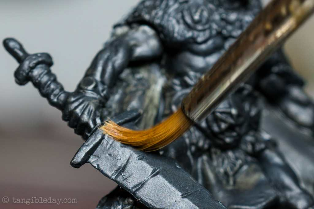 "5 Ways to Avoid Boring ""Hobby"" Photography - how to be a better hobby photographer - photography for hobbyists - scale modeling photography - How to take better photos of miniatures - raise your perspective - close up brush sweeping"