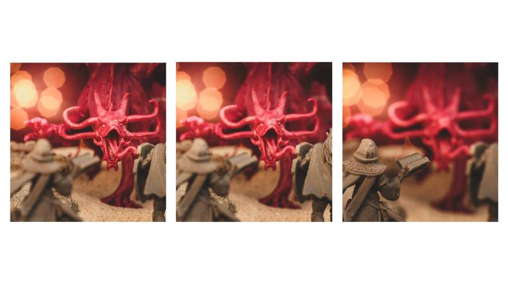 10 Tips for Macro Photography of Miniatures (an Easy Guide) - how to take good pictures of miniatures and models - how to take better photos of minis and scale models - focus stacking for miniatures
