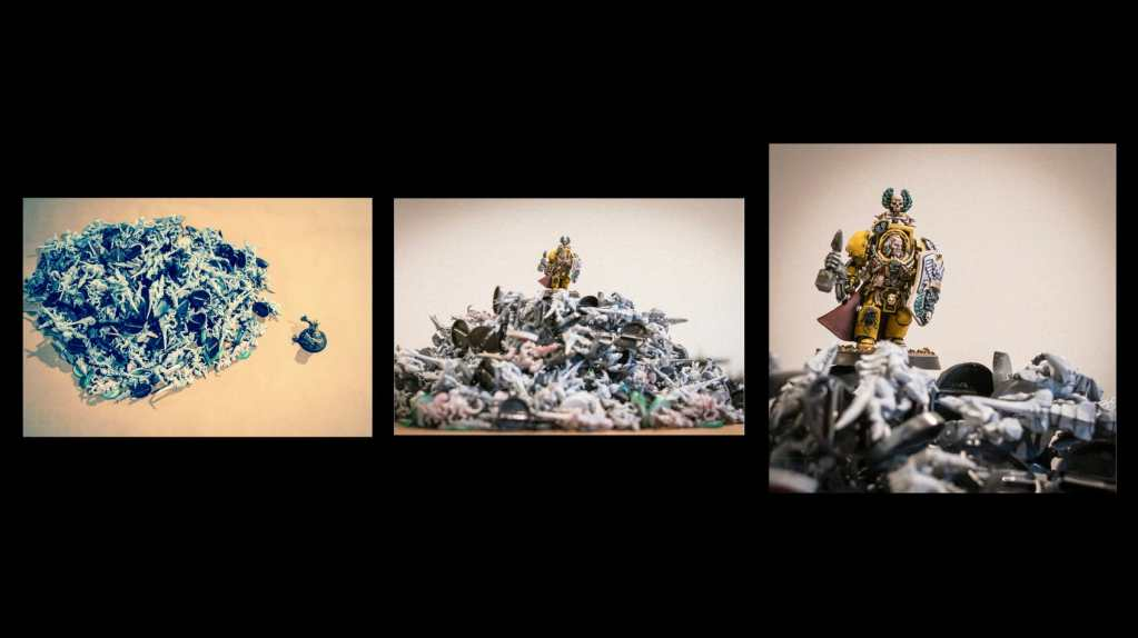 """5 Ways to Avoid Boring """"Hobby"""" Photography - how to be a better hobby photographer - photography for hobbyists - scale modeling photography - How to take better photos of miniatures - warhammer 40k. narrative lysander"""