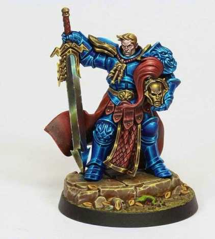 Stormcast Eternal Paint Schemes - 9 Color Motifs - how to paint stormcast eternals - color schemes for stormcast eternals, liberators, celestants, and other Age of Sigmar models from the Stormcast Eternal range - 9 color schemes for Stormcast Eternal models and miniatures from Citadel Games Workshop - dark blue nmm armor stormcast liberator two handed sword