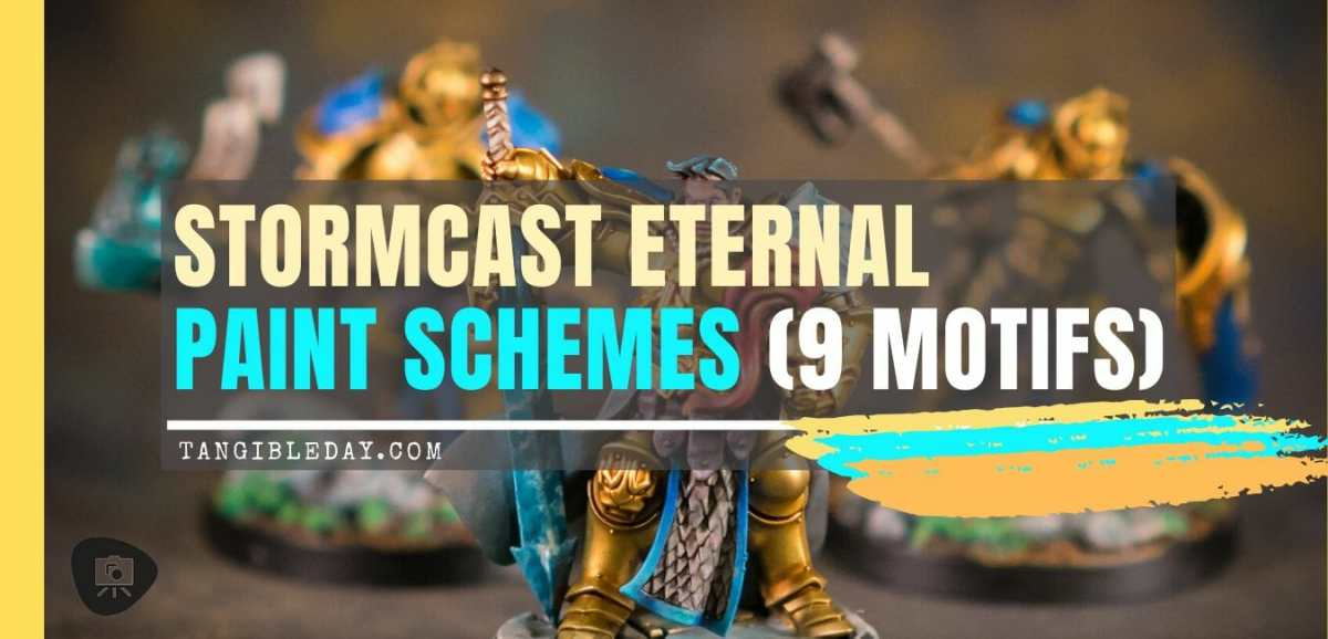 Stormcast Eternals Paint Schemes (9 Color Motifs)