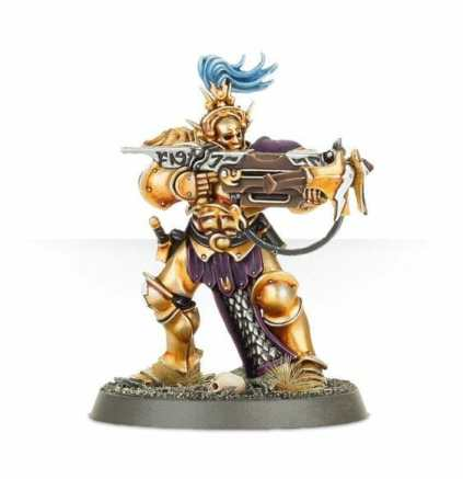 Stormcast Eternal Paint Schemes - 9 Color Motifs - how to paint stormcast eternals - color schemes for stormcast eternals, liberators, celestants, and other Age of Sigmar models from the Stormcast Eternal range - 9 color schemes for Stormcast Eternal models and miniatures from Citadel Games Workshop - yellow gold with orange, sepa shades