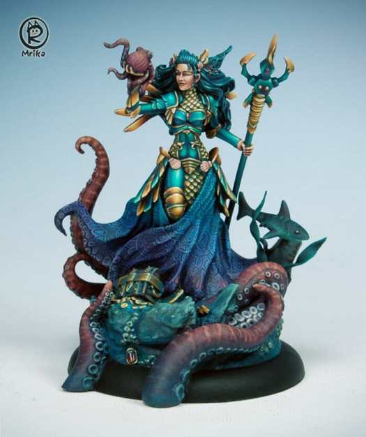 How to paint miniatures competitively – how to paint for competition – painting contest – how to win a painting contest – Marike Reimer miniature painting – interview with Marike Reimer about the Kraken Mistress – how to paint miniatures like a pro – how to paint miniatures professionally – best miniature painting tutorials – the final kraken mistress - check it out