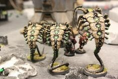 Necron Paint Schemes - 9 Color Motifs - how to paint Necrons - color schemes for Necrons, Necron Warriors, Sautekh or Zathanor Dynasty, and Necron dynasties - Indomitus Warhammer 40k Necron range color palette - 9 color schemes for Necron models and miniatures from Citadel Games Workshop - brown necrons