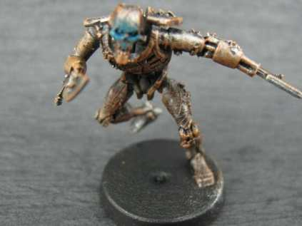 Necron Paint Schemes - 9 Color Motifs - how to paint Necrons - color schemes for Necrons, Necron Warriors, Sautekh or Zathanor Dynasty, and Necron dynasties - Indomitus Warhammer 40k Necron range color palette - 9 color schemes for Necron models and miniatures from Citadel Games Workshop - necron face