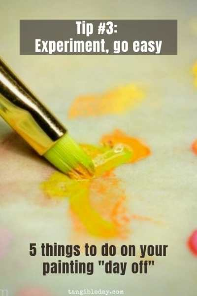 5 ways to destress your hobby - tips to reduce stress from hobbies - painting miniature day off - stress reduction for miniature painters and hobbyists - it's not hard to paint miniatures and not difficult or expensive either. Give miniature painting a try! - experiment go easy with a painting or project