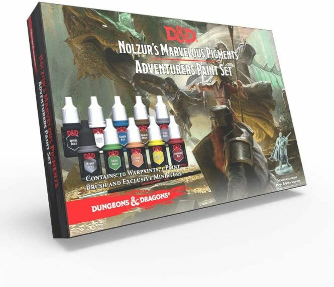 Top 10 best miniature paint set – best miniature paint sets review  – Where to begin painting tabletop wargaming miniatures – miniature painting kits and supplies - D&D adventurer's paint set