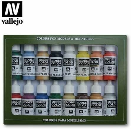 Top 10 best miniature paint set – best miniature paint sets review  – best model paints for new painters – best paints for painting miniatures and models – Where to begin painting tabletop wargaming miniatures – miniature painting kits and supplies - Vallejo Basic Colors Model Color Paint Set review